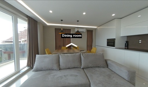 Virtual tour of an apartment for sale