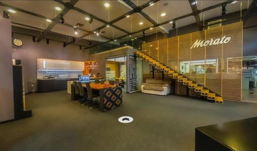 Virtual tour of the showroom